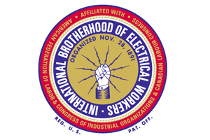 International Brotherhood of Electrical Workers proudly supports the Fairplex Garden Railroad