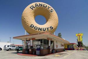 Randy's Donuts proudly supports the Fairplex Garden Railroad