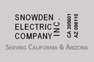 Snowden Electric Company proudly supports the Fairplex Garden Railroad