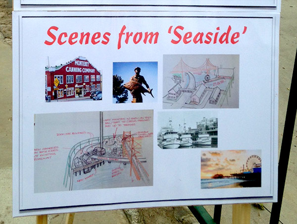 Seaside Coastal Community scene planning stage