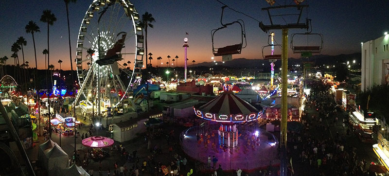 L.A. County Fair at Night. photo by Vance Kalscheuer